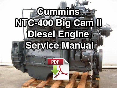 cummins ntc 400 big cam ii diesel engine service manual vintagemanuals rh vintagemanuals net Big Cam Cummins Ovrejol Kit Big Cam IV Cummins Engine