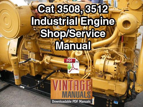 cat 3508 3512 68z 65z industrial diesel engine shop. Black Bedroom Furniture Sets. Home Design Ideas