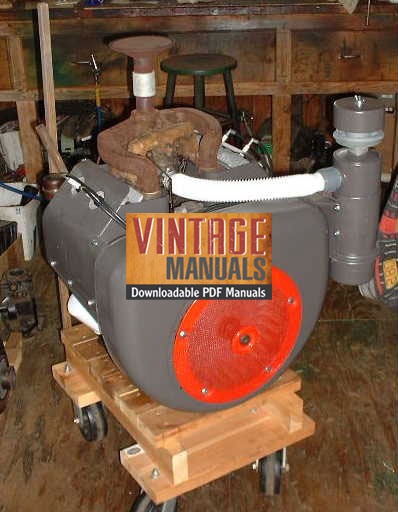 vh4 wisconsin vh4, vh4d gas engine shop service manual vintagemanuals wisconsin vg4d wiring diagram at readyjetset.co
