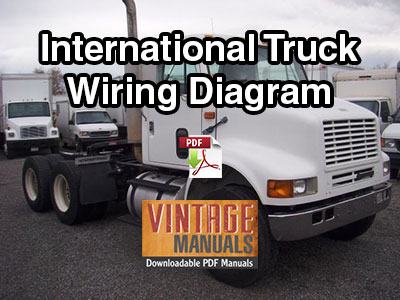 International Truck Wiring Diagram from www.vintagemanuals.net